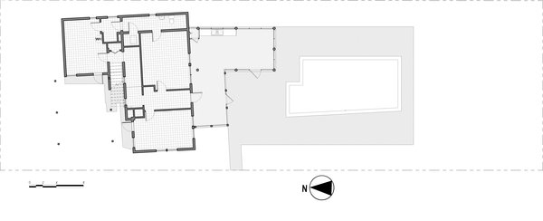 Revised 1st floor plan Photo 17 of Jolly Bay Addition modern home