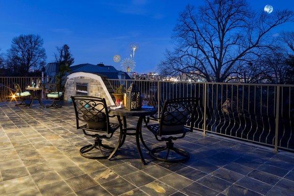Photo 11 of NEW International Stone & Stucco FOUR level newly built manor on Historic Arlington Ridge Road modern home