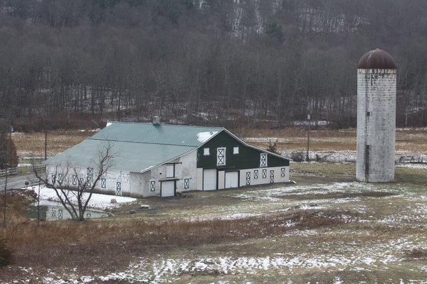 Barn with Silo Photo  of Silo modern home