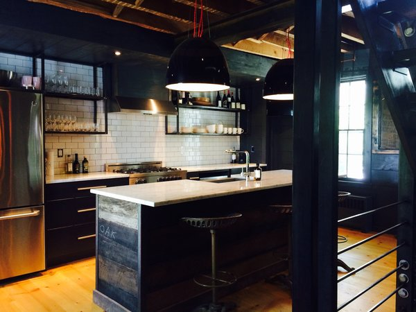 Industrial Kitchen Photo 4 of The Hut modern home