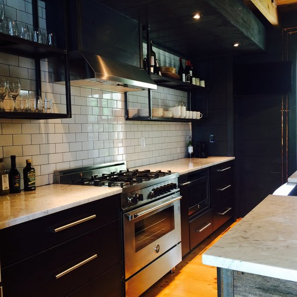 Industrial Kitchen Photo 5 of The Hut modern home