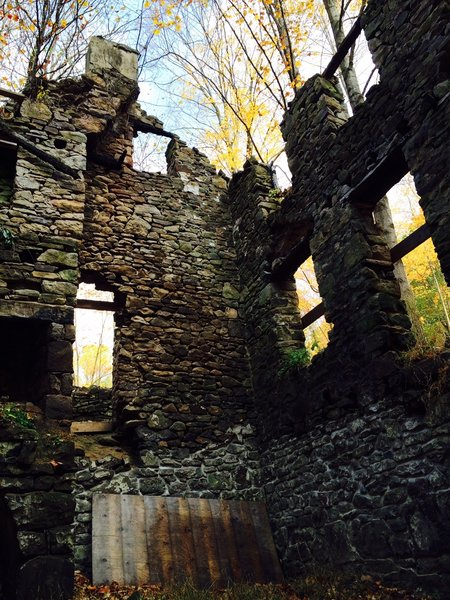Inside a 350 year old stone bank homestead.  Photo 4 of Screaming for Life - circa 1680's Homestead, Bucks County Stone House modern home