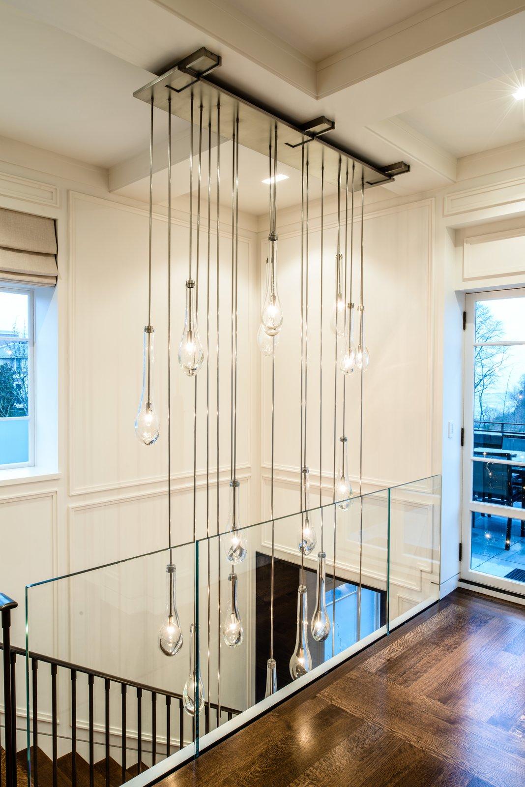Duchess Mansion, custom entry chandelier