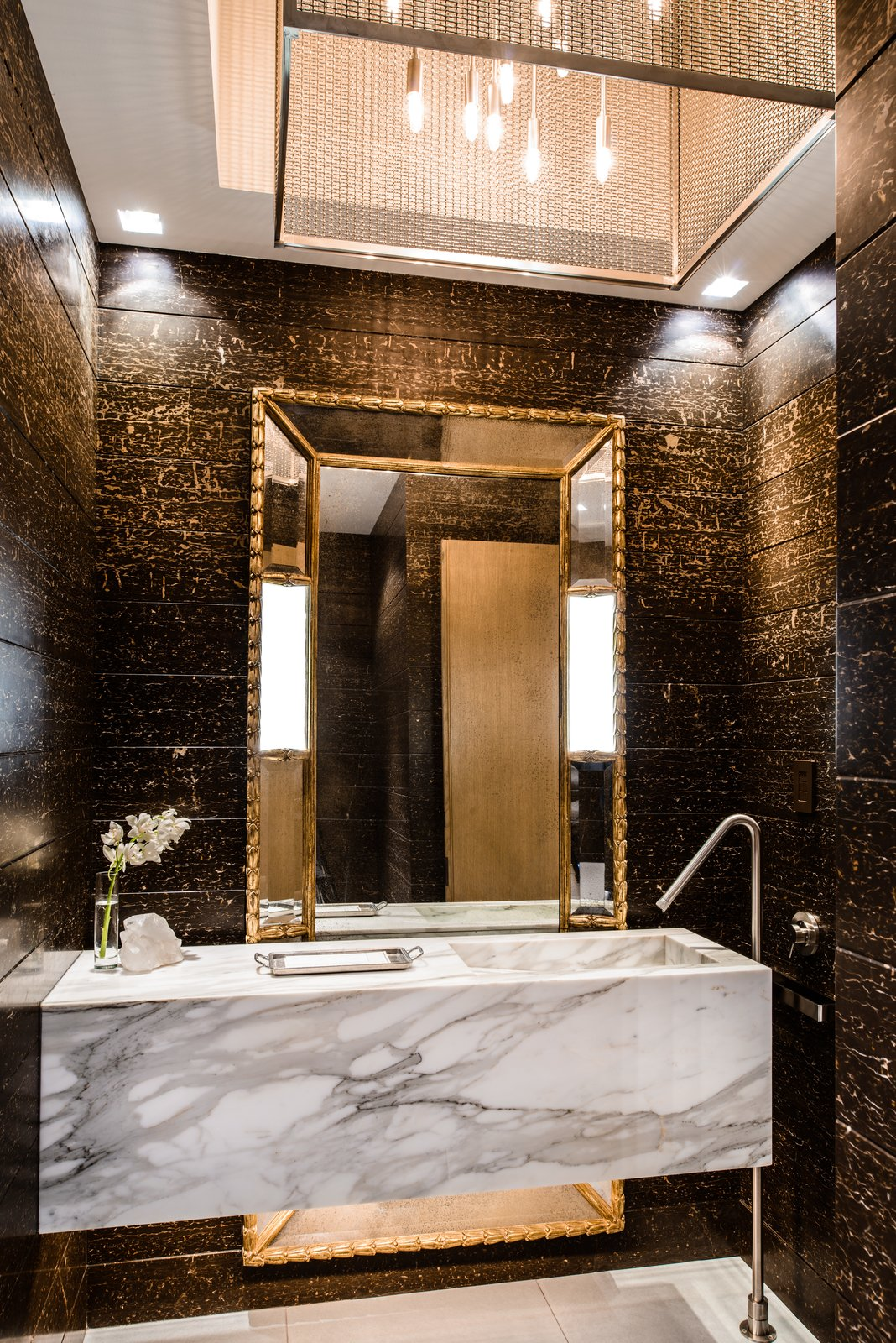 Duchess Mansion, powder room  Duchess Mansion by Garret Cord Werner