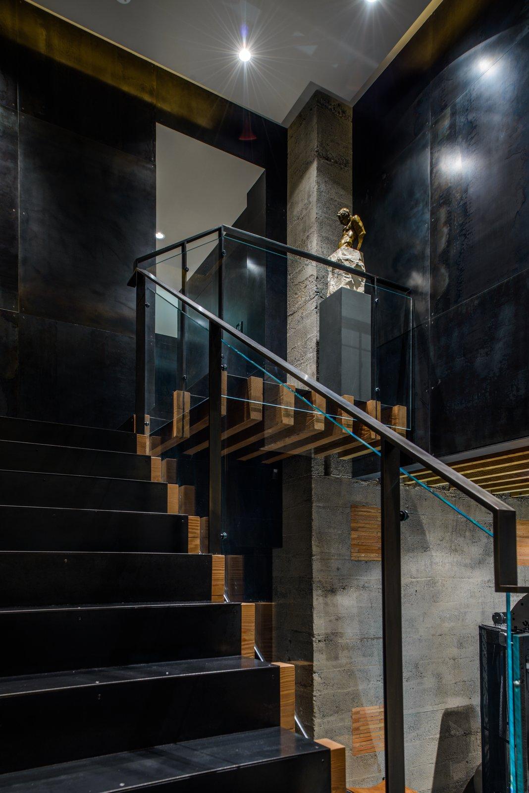 Duchess Mansion, interior staircase  Duchess Mansion by Garret Cord Werner