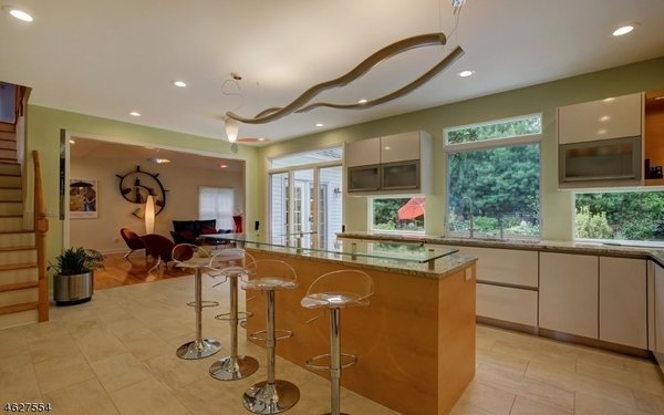 Gourmet Eat In Kitchen Photo 2 of Scotch Plains Contemporary modern home