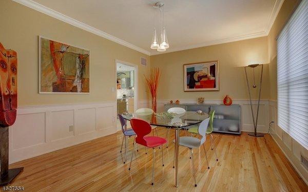 Simply Elegant Dining Room Photo 3 of Scotch Plains Contemporary modern home