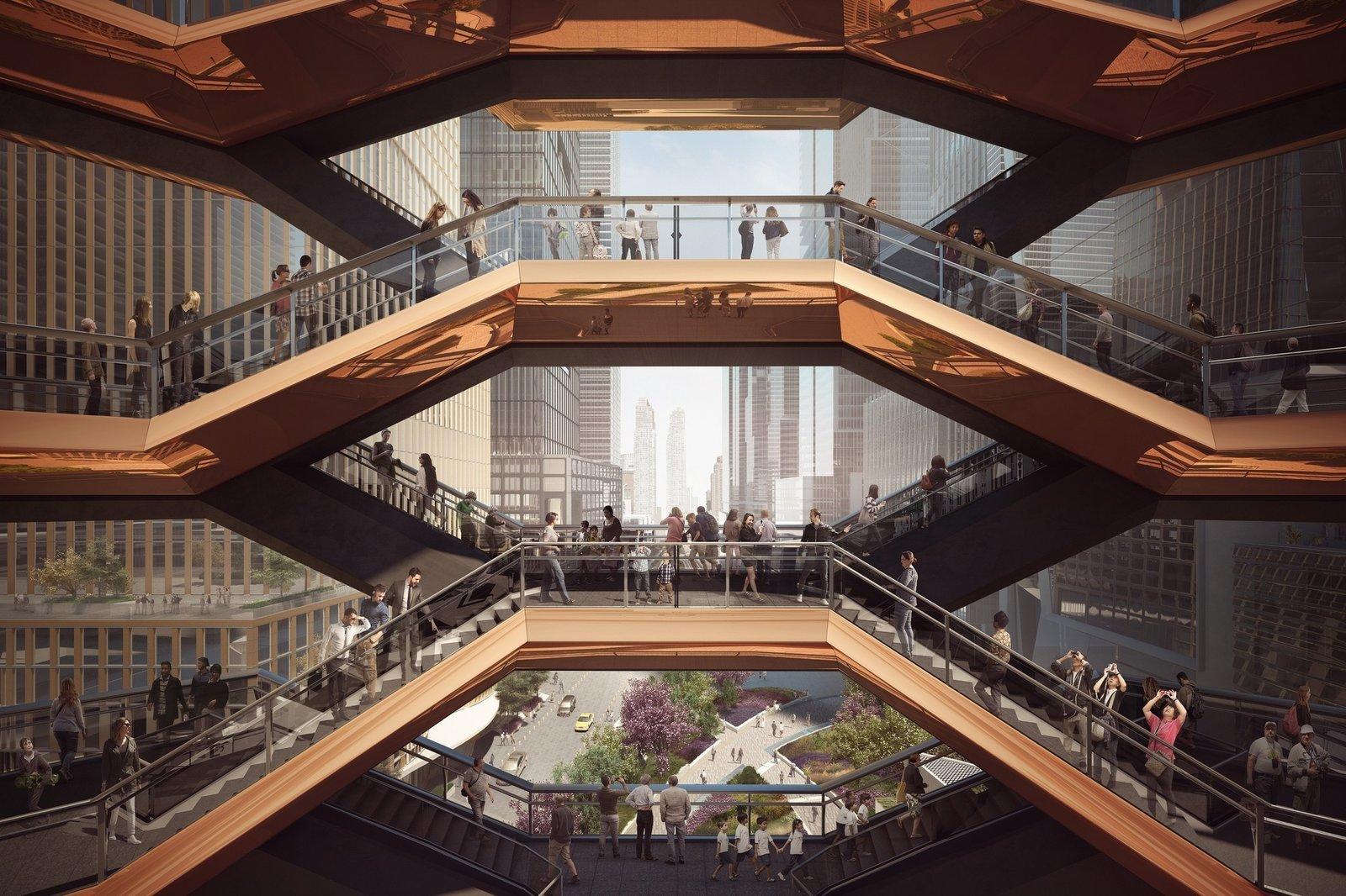 Photo 3 of 4 in A New Kind of Public Landmark: New York's Interactive Centerpiece by Heatherwick Studio