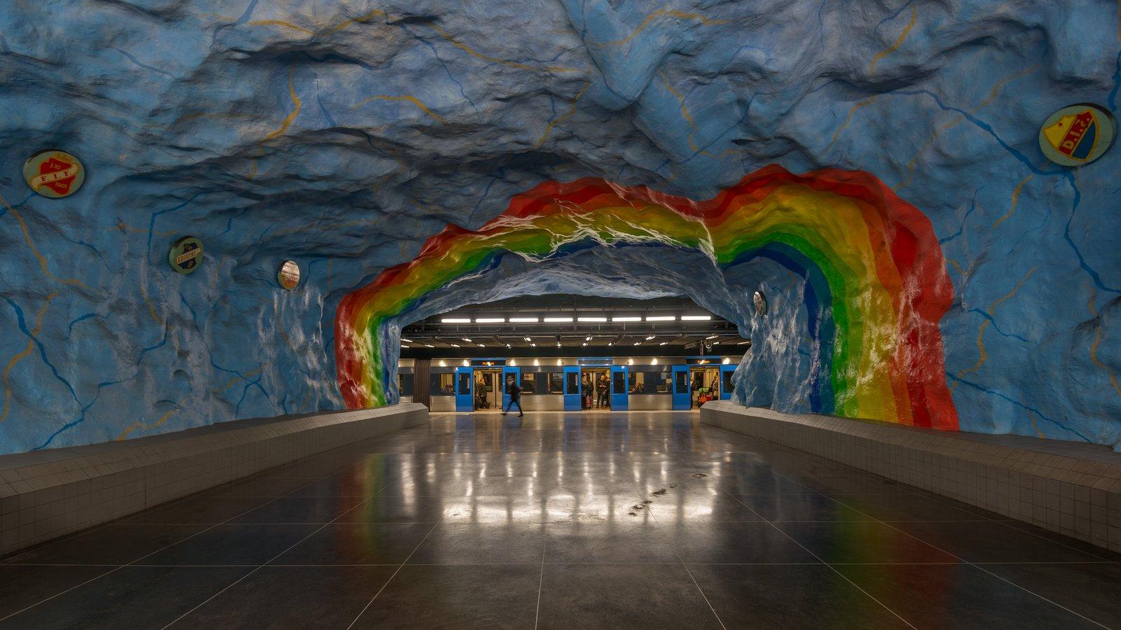 Photo 5 of 10 in Explore the Stockholm Metro For a Tour Through 5 Decades of European Art History