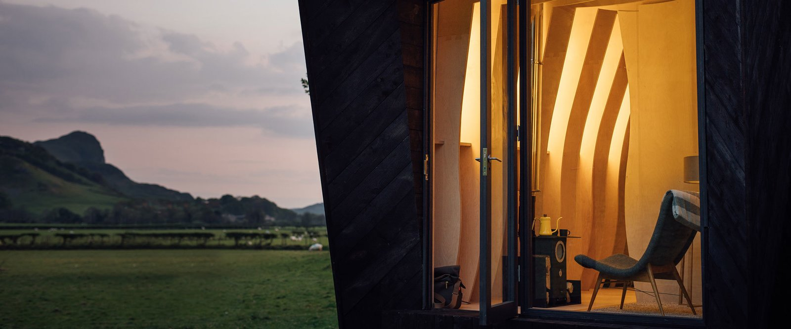 Tour One of Epic Retreat's Tiny Pop-Up Hotel Cabins in the Welsh Countryside - Photo 3 of 11