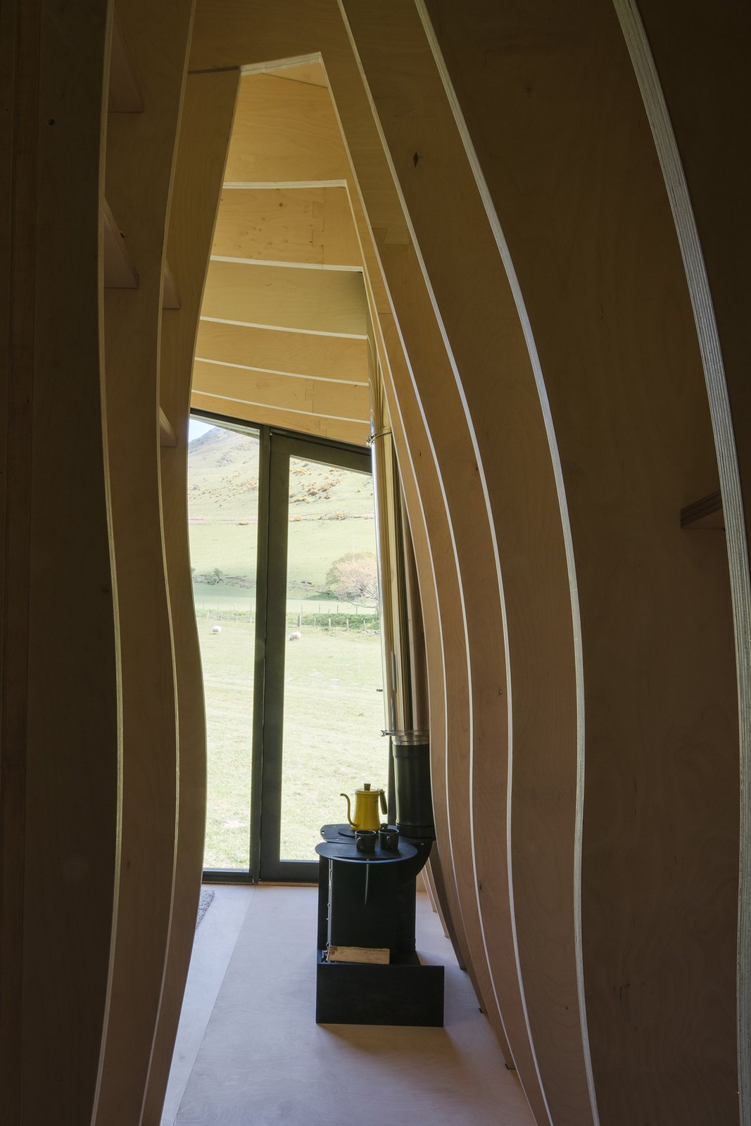 Photo 7 of 11 in Tour One of Epic Retreat's Tiny Pop-Up Hotel Cabins in the Welsh Countryside