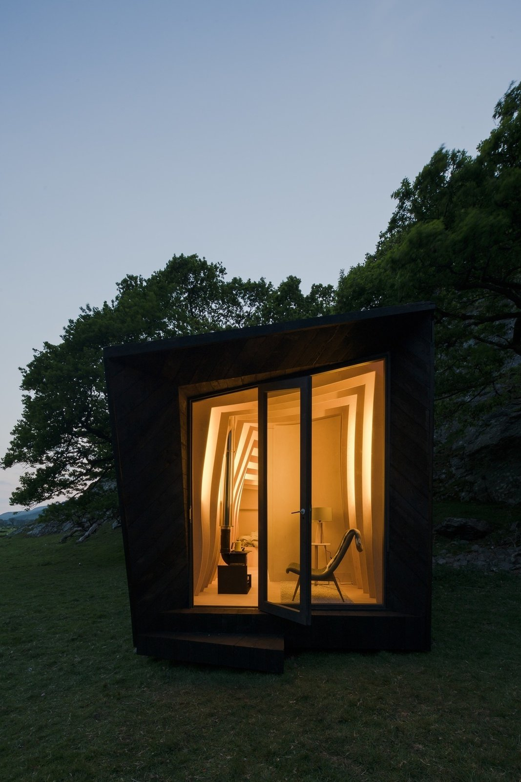 Photo 11 of 11 in Tour One of Epic Retreat's Tiny Pop-Up Hotel Cabins in the Welsh Countryside