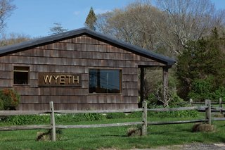 Next Week Marks Sotheby's Sale of Iconic Design Pieces From WYETH's Coveted Collection - Photo 1 of 9 - WYETH'S Sagaponack location, built by the owners themselves in 2008.