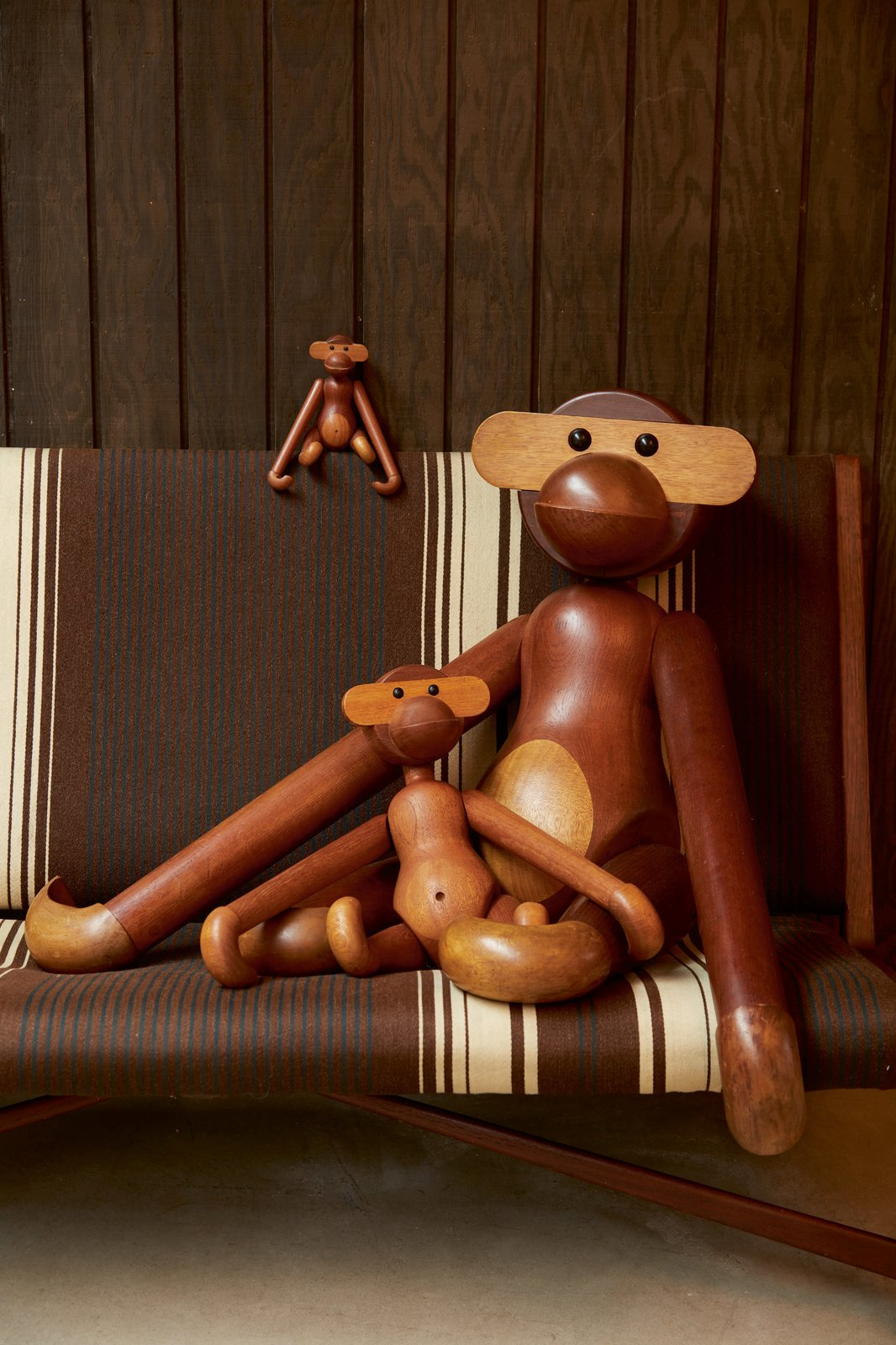 Kay Bojesen, Large Monkey, $2,000–$3,000; Rare Early Monumental Monkey, Estimate $15,000–$20,000  Photo 5 of 10 in Next Week Marks Sotheby's Sale of Iconic Design Pieces From WYETH's Coveted Collection