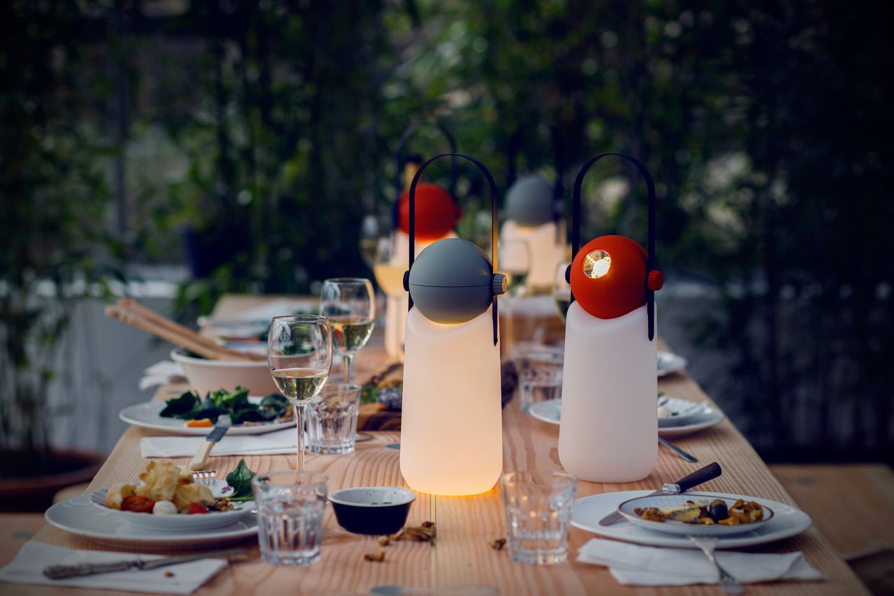 This portable light was designed by Floris Schoonderbeek to be used as lantern that sits upright, or converted into a helpful flashlight.  Photo 4 of 10 in 9 Ways to Create the Perfect Outdoor Lighting