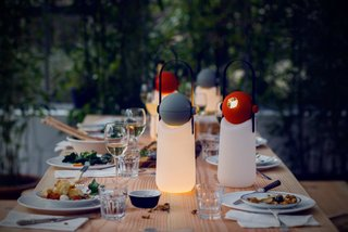 9 Ways to Create the Perfect Outdoor Lighting - Photo 3 of 9 - This portable light was designed by Floris Schoonderbeek to be used as lantern that sits upright—or converted into a helpful flashlight.