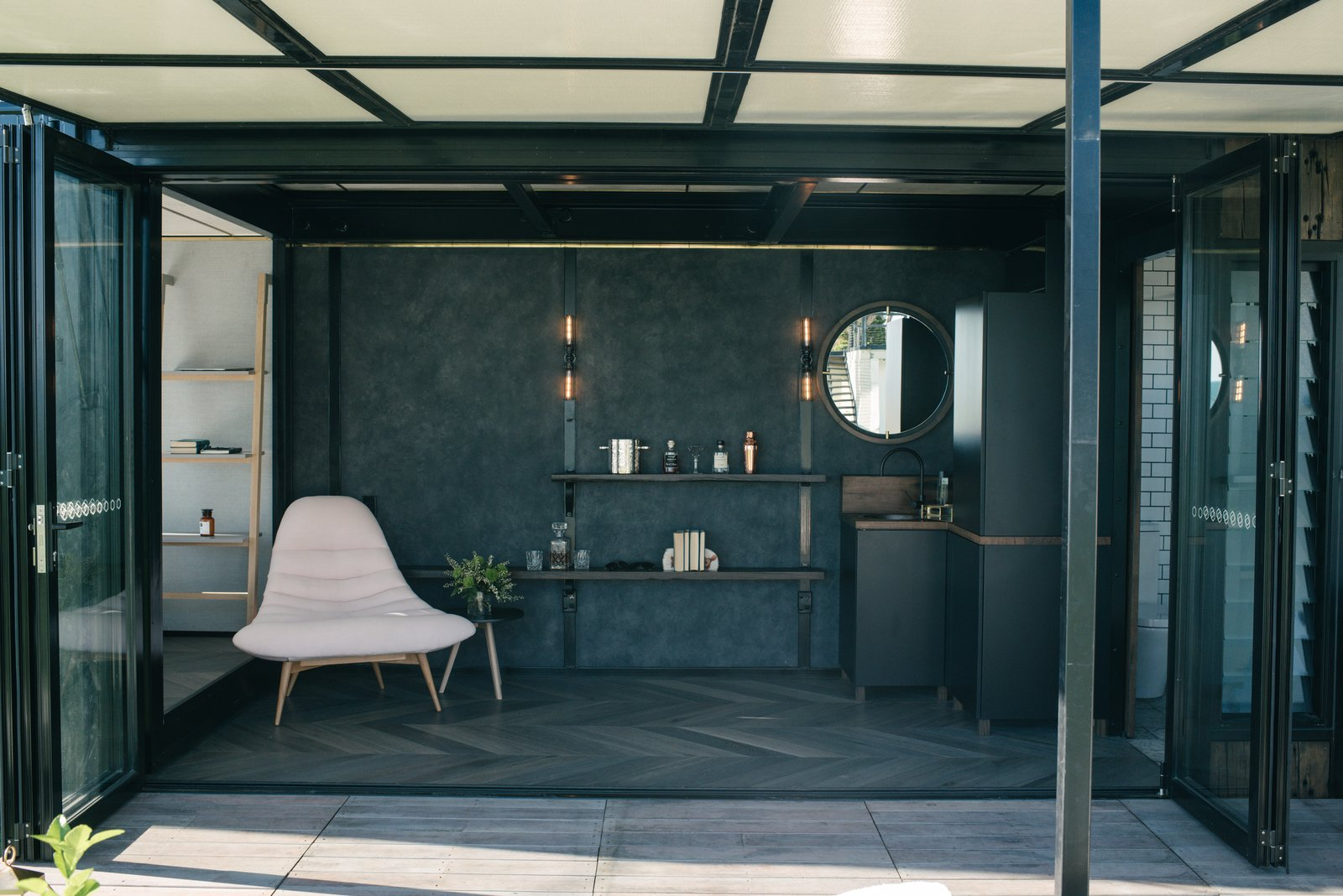 Photo 3 of 9 in An Australian Firm Makes Portable Hotel Rooms Out of Shipping Containers