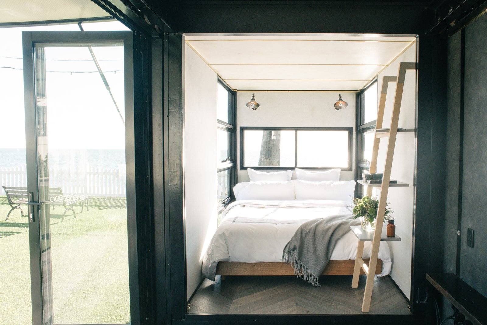 Photo 6 of 9 in An Australian Firm Makes Portable Hotel Rooms Out of Shipping Containers