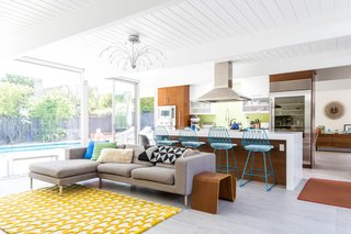 An Interior Designer Launches Her Career by Renovating Her Family's Midcentury Eichler