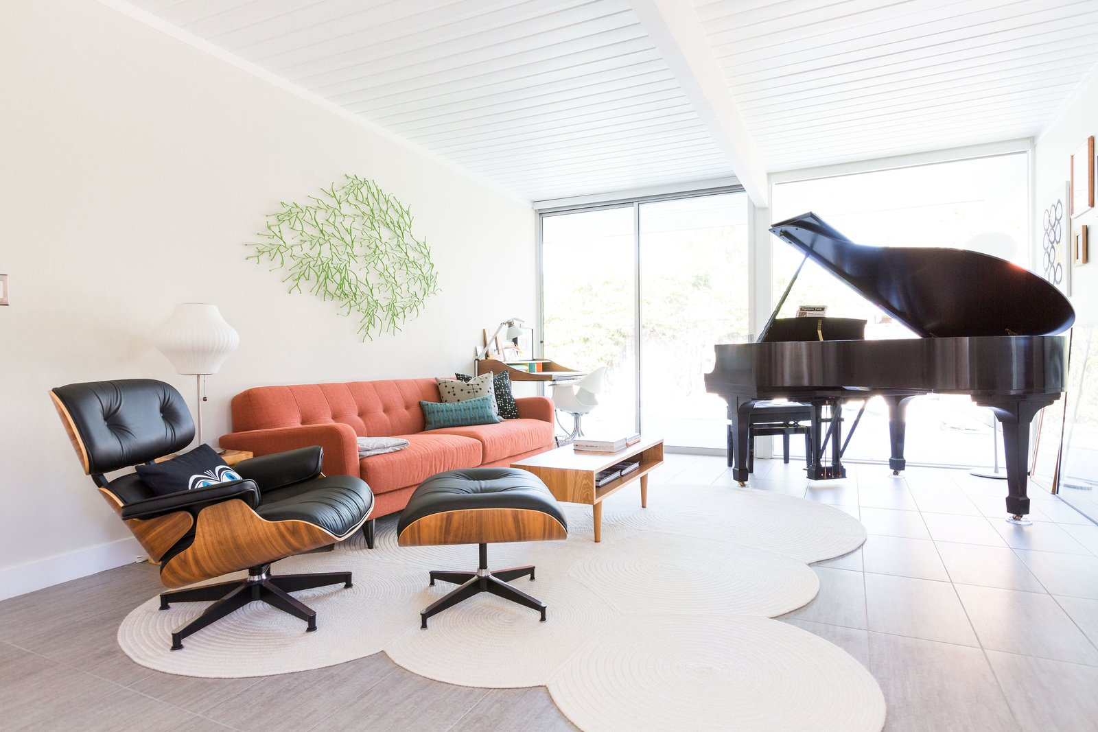 Shop the Look: Midcentury Living Room