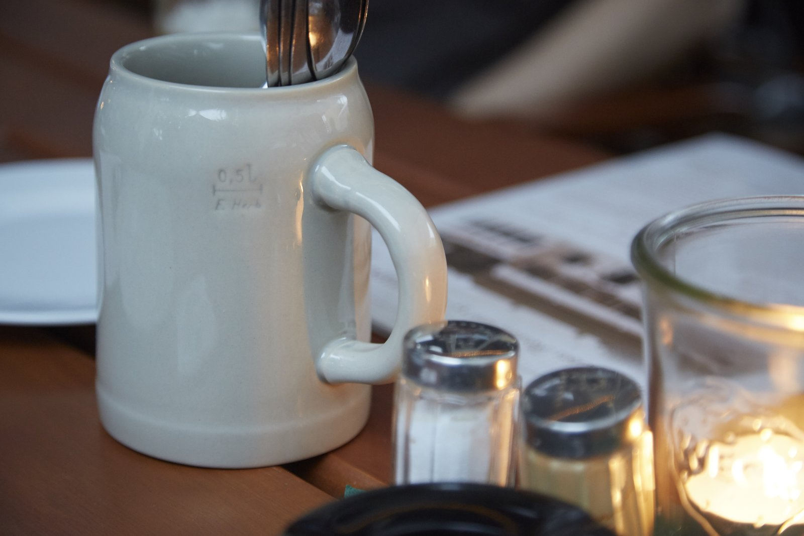 Ceramic Beer Mug  Photo 14 of 14 in Found MUJI Celebrates German Craftsmanship With a New Collection of Useful Objects