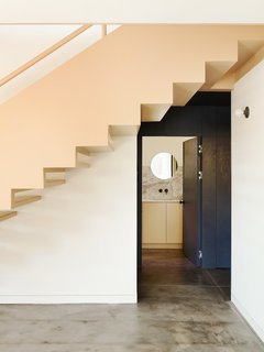 Grids and Colors Inspire the Renovation of a Graphic Designer's Pink L.A. Bungalow - Photo 5 of 13 -