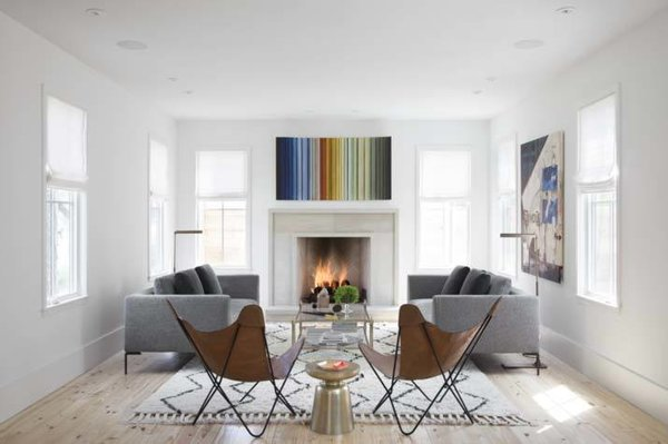Livingroom Photo  of Clifford Residence modern home