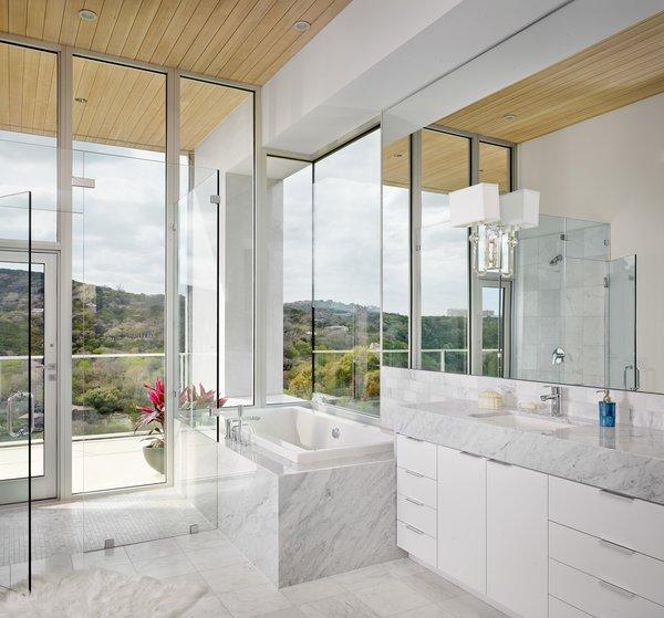 Master bath Photo 7 of Lakeshore Residence modern home