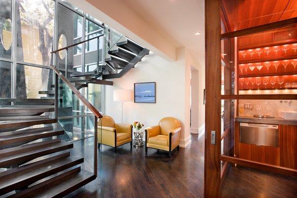 Stairs/Wet bar Photo 5 of Meriden Residence modern home
