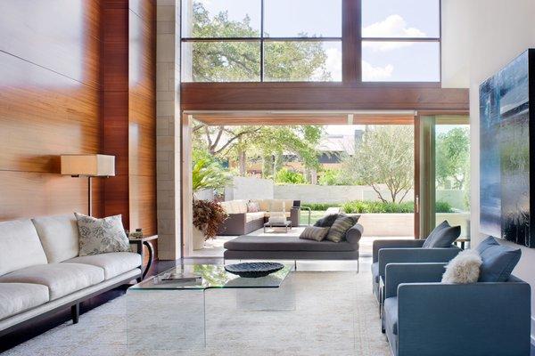 Family rom Photo 12 of Meriden Residence modern home
