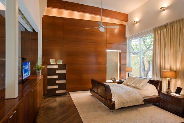Master bedroom Photo 10 of Meriden Residence modern home