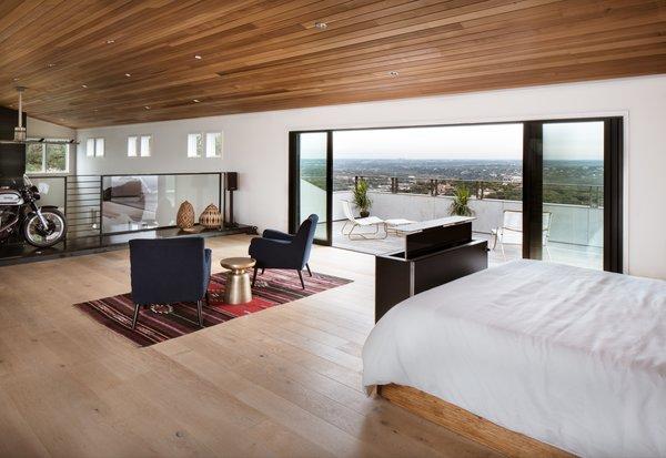 Master bedroom loft