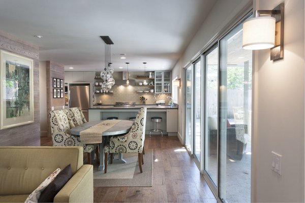 Dining and kitchen Photo 9 of French Place Residence modern home