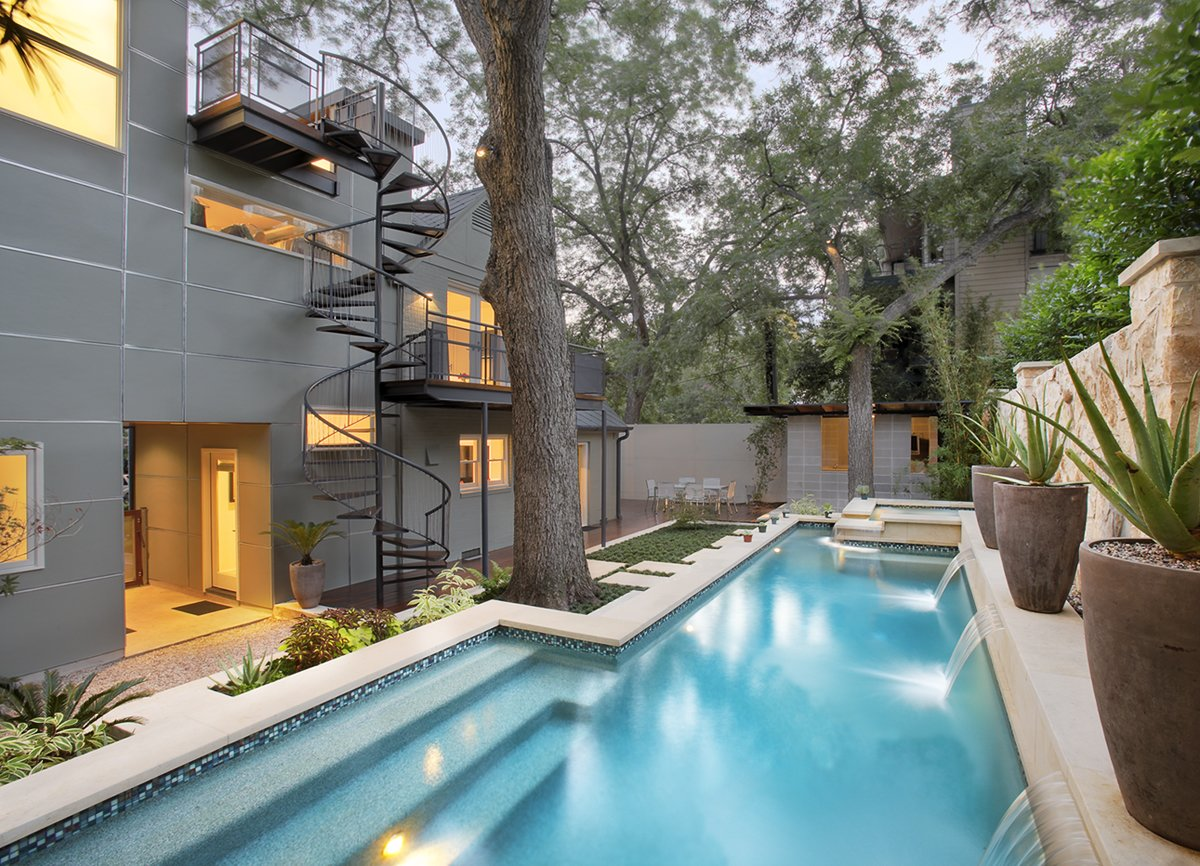 Pool  Photo 10 of 12 in Take a Plunge Into These Enticing Modern Pools from West 17th Street Residence
