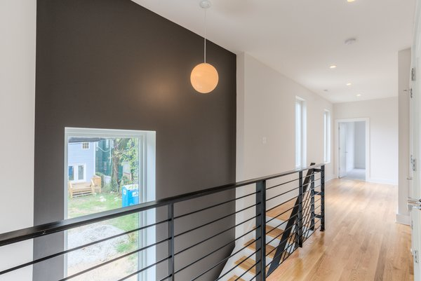 Photo 13 of urban infill row house in historic church hill modern home