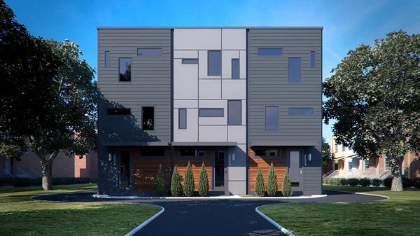 Photo 2 of A2 RVA | modern townhomes in an urban alley modern home