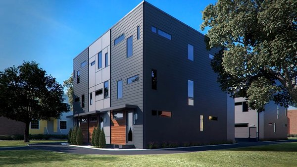 Photo 3 of A2 RVA | modern townhomes in an urban alley modern home