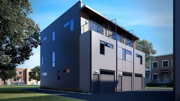 Photo 16 of A2 RVA | modern townhomes in an urban alley modern home