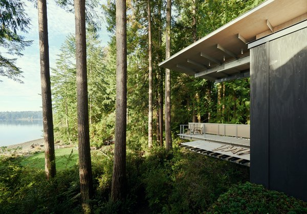 Cabin at Longbranch | Olson Kundig Photo 3 of Cabin in Longbranch modern home