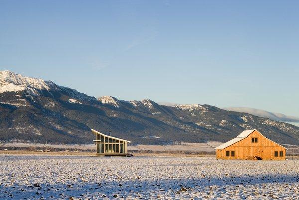 Glass Farmhouse | Olson Kundig Photo 3 of Glass Farmhouse modern home