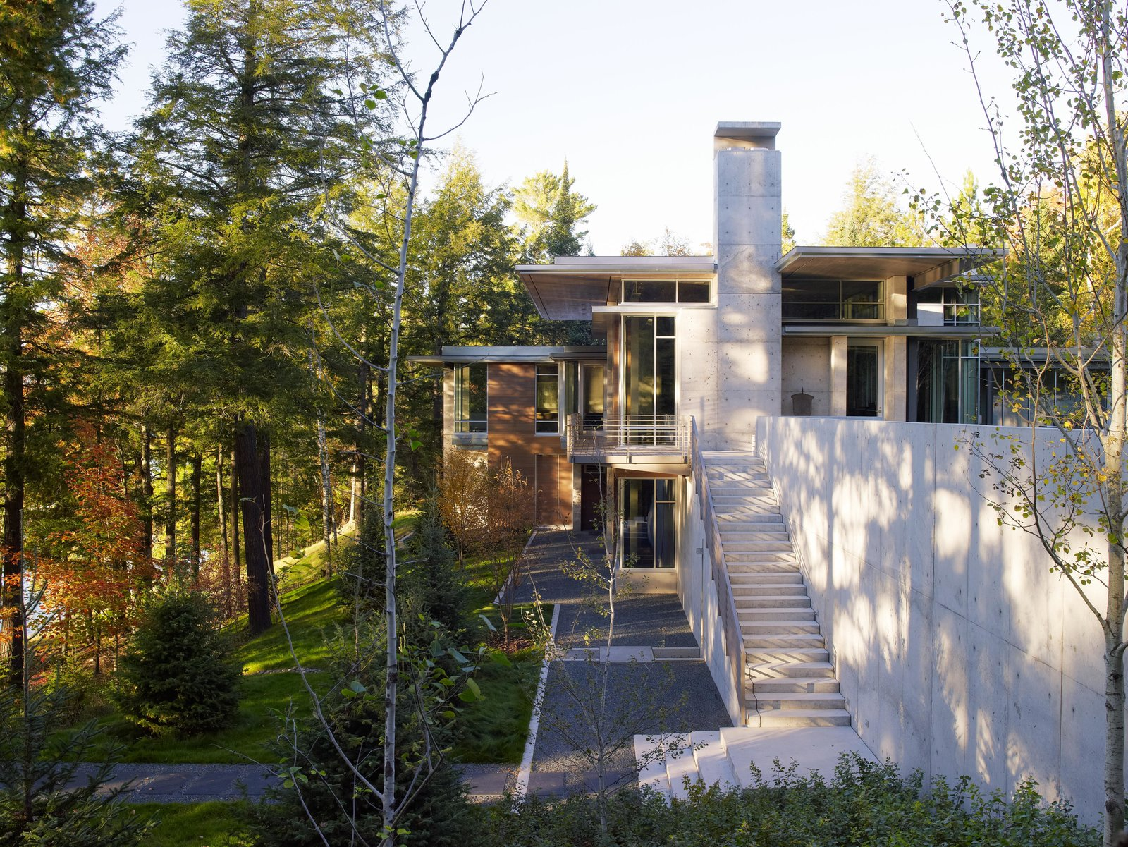 Northwoods House Tagged: Garden and Outdoor.  Northwoods House by Olson Kundig