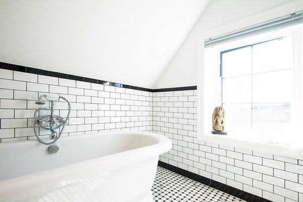 Modern home with bath room and freestanding tub. Edwardian Renovation - Bathroom Photo  of Edwardian Renovation