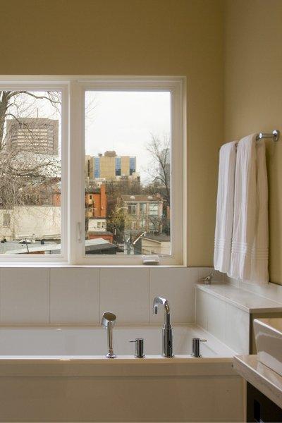 Modern home with bath room and alcove tub. Laneway Loft - Bathroom Photo 4 of Laneway Loft