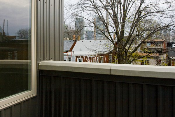 Modern home with outdoor, trees, and hardscapes. Laneway Loft - Rooftop Patio Photo 5 of Laneway Loft