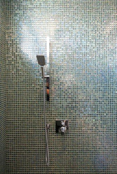 Modern home with bath room and enclosed shower. Elgin Loft - Master Bathroom Photo 12 of Elgin Loft