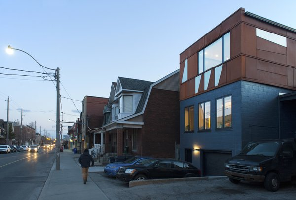 Modern home with outdoor, hardscapes, and post lighting. Elgin Loft - Exterior Photo 5 of Elgin Loft
