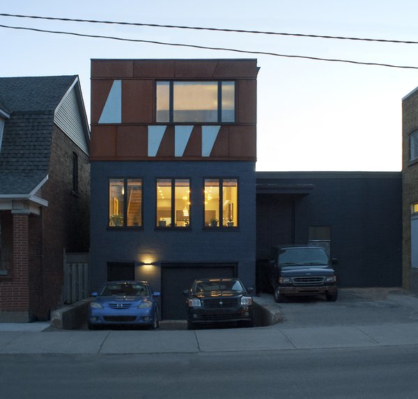 Modern home with outdoor and hardscapes. Elgin Loft - Exterior Photo 4 of Elgin Loft