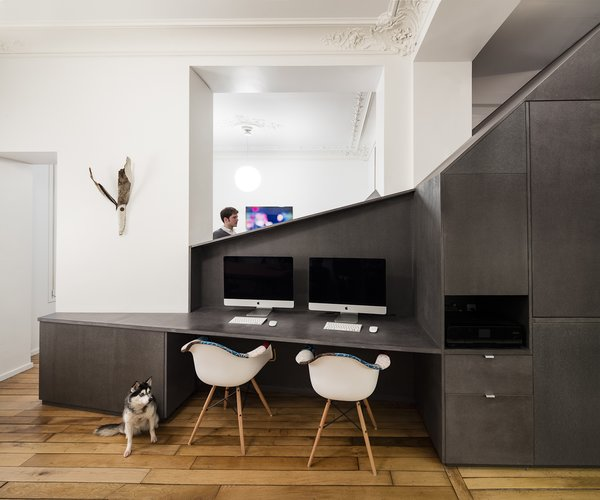 Living / office / dining Photo 4 of Apartment XIV modern home