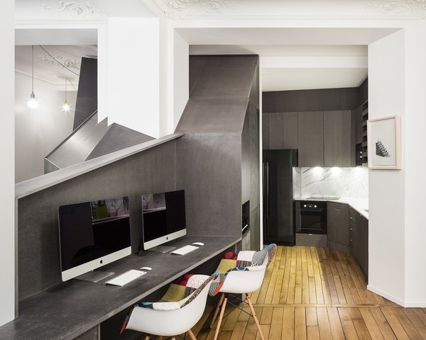 Living / office / dining Photo 5 of Apartment XIV modern home