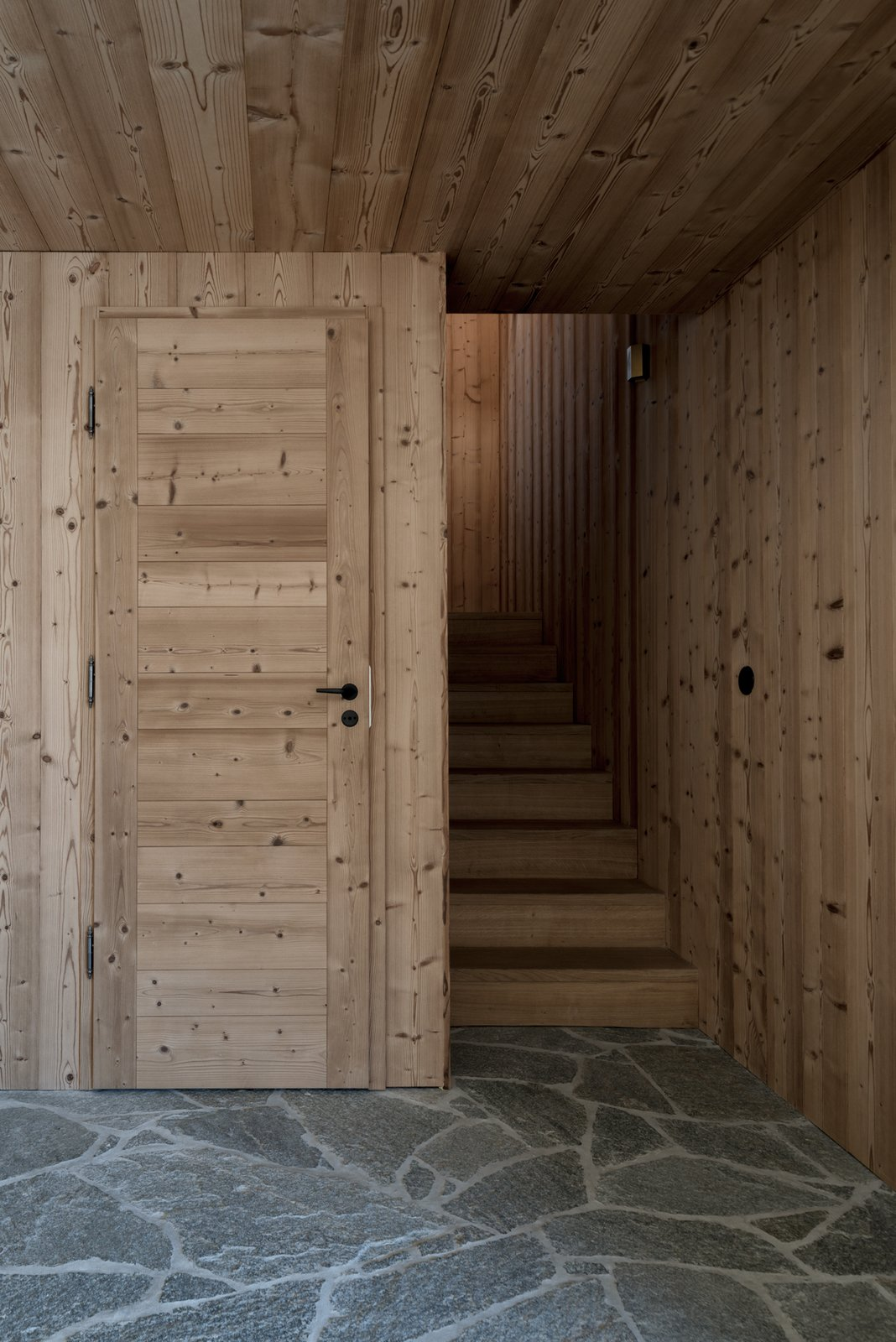 Tagged: Staircase and Wood Tread.  Mountain House by studio razavi architecture